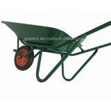 日本農機具の空気の車輪の手押し車