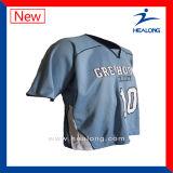 기어 혼합을 입는 Healong 형식 디자인 스포츠는 승화 남자의 라크로스 셔츠를 치수를 잰다