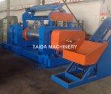 La mezcla de caucho automático de alta calidad de la máquina de molino mezclador de dos rollos