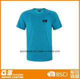 T-shirt extérieur de Wicking de l'humidité à séchage rapide des hommes
