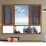 La stoffa per tendine di alluminio di Feelingtop Inclinare-Gira la finestra della rete di zanzara dell'oscillazione