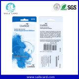 Kaart van de Streepjescode van de Kleur van de goede Kwaliteit de Volledige UV Plastic Abnormale