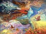 1000 Stück Josephine Wand-Zinn-Inneres und Seelen-Puzzle