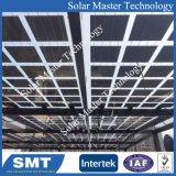 Panneau solaire toit en tôle support de montage solaire avec Tin Couture crochet toit permanent5 et rampe solaire, énergie solaire fin au milieu du collier de serrage