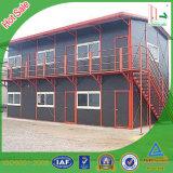 Casa pré-fabricada de Deaign moderno/custo colorido/baixo