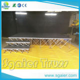 Folding Riser를 가진 쉬운 Transport Aluminum Smart Indoor Stage