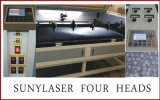 Taglierina del laser dei quattro delle teste giocattoli della peluche 1800*1000mm