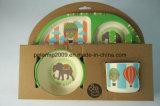 5PCS бамбук дети пластических масс материалов детей ужин
