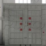 Salle de projection de nettoyage de l'acier de l'équipement de sablage