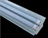 El tubo de luz LED T8 Dual-End Powered cubierta transparente de 1,2 m de 18W