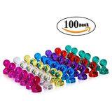Kundenspezifischer Farben-magnetischer Kristallstoßpin-Großhandelsmagnet