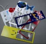 북마크 (HW-806)를 가진 싼 가격 PVC 카드 돋보기