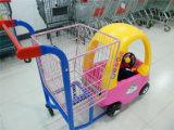 Kind-Einkaufswagen-Kind-Laufkatze-Kind-Laufkatze für Supermarkt