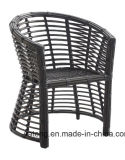 Mesa redonda y sillas de los nuevos del diseño muebles de mimbre al aire libre populares de la venta al por mayor para el &Banquet del restaurante (YT641)