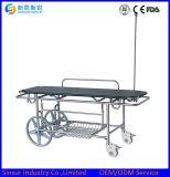 Qualitäts-Krankenhaus-Geräten-aus rostfreiem Stahl faltbare Laufkatze-Transport-Bahre