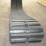 Trilha de borracha do descarregador amplamente utilizado (600*125*62) para Ld400 a lagarta, Mx110 Morooka