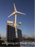 gerador horizontal do moinho de vento 3000W com velocidade do vento 8m/S Rated