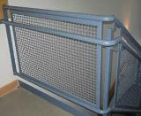 Acoplamiento de alambre prensado usado como cerca