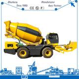 Individu concret mobile du mélangeur Sm3.5 de camion chargeant le mélangeur concret mobile