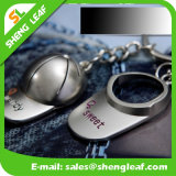 昇進のギフトレーザーのロゴの写真フレームの金属Keychain (SLF-MK002)