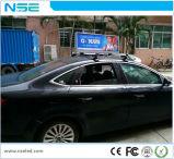 Muestra lateral doble al aire libre de los primeros del taxi LED de 3G/de WiFi P5