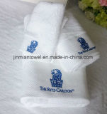 Factory Price Embroidery Logo 100% Knitting machine Face Towel, Bath Towel