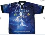 新しいデザインはカスタム昇華釣ワイシャツに着せる