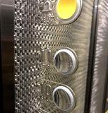 Tipo facente un giro turistico elevatore del blocco per grafici dell'acciaio inossidabile dello specchio del passeggero con inserire legno