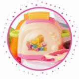 Miniküche-Spiel-Haus-Plastikspielzeug für Kinder