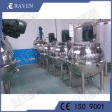 アジテータ産業ミキサーの衛生ステンレス鋼タンクデザイン