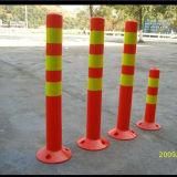 Alberino di plastica di sicurezza di prodotti di traffico del bordo della strada