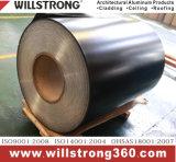 Aluminium de couleur de la bobine avec Coationg PVDF pour la décoration