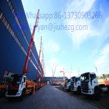 Bomba concreta montada caminhão de preço de fábrica 33m Jiuhe para a venda Arábia Saudita