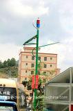600W風力、太陽電池パネル、コントローラ、インバーターおよび電池システム