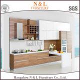 Armoire de cuisine économique moderne Cabinet de cuisine en érable foncé