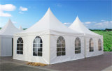 Wedding Partyのための白いPVC Rooftop Outdoor Pagoda Tent