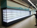 Динамическая система охлаждения откройте дисплей Merchandiser холодильник