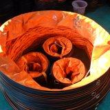 Os tubos de ventilação feitas a partir de tela com o esqueleto
