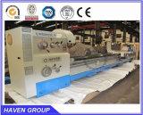 Máquina horizontal convencional CW62103C/3000 do torno