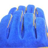 牛そぎ皮の耐熱性溶接作業手袋
