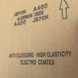 Кальцинированная ткань J870k нержавеющее полируя 400# алюминиевой окиси истирательная