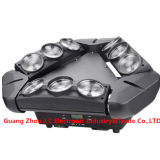 9PCS * 12W RGBW 4 In1 LED a todo color de araña infinita Moving Head Light