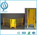 Barriera espansibile di alluminio e dell'acciaio di sicurezza stradale