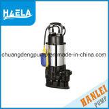 0,25 kw en acier inoxydable de pompes submersibles d'eaux usées pour l'eau sale