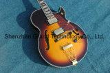 Classic ES335 dans Sunbust Guitare Jazz avec le matériel d'Or (TJ-275)