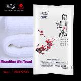 De beschikbare Natte Handdoek voor het Gebruik van het Restaurant verpakte individueel Natte Handdoek