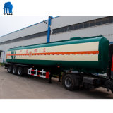 47000 litros Tri-Axle Volume 6 Navio-tanque de combustível de cabina semi reboque