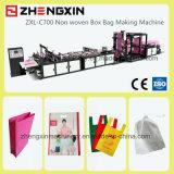 Saco não tecido da caixa Zxl-C700 que faz a máquina com Full-Automatic