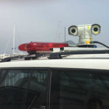 Автомобиль установлен лазерный ИК PTZ камеры для установки вне помещений