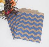 Saco de papel do alimento, sacos do deleite dos doces do aniversário, sacos de papel do favor